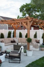 26+ Awesome DIY Fire Pit Plans Ideas With Lighting in Frontyard (8)
