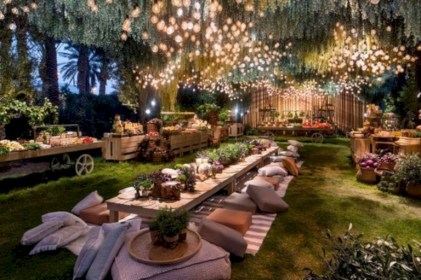 28+ Awesome Party Alcove Party Lights Tips for Outdoor Decor Ideas (28)