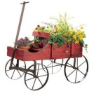 28+ Inspiring to Decorate Garden Carts for Fall (6)