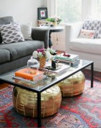 30+ Creative Tips For A Perfect Coffee Table Styling To Living Room (23)