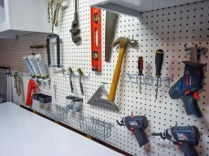 40+ Brilliant Ways To Organize Your Home With Pegboards (22)
