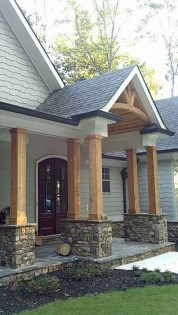 29+ BEAUTIFUL FRONT PORCH DECORATING IDEAS 24