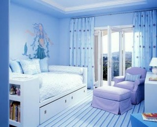 36+ Sweet Mermaid Themes Bedroom Ideas For Your Children (10)