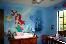 36+ Sweet Mermaid Themes Bedroom Ideas For Your Children (15)