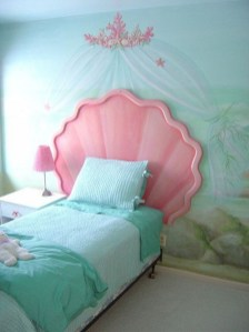 36+ Sweet Mermaid Themes Bedroom Ideas For Your Children (2)
