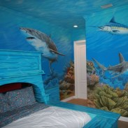 36+ Sweet Mermaid Themes Bedroom Ideas For Your Children (24)