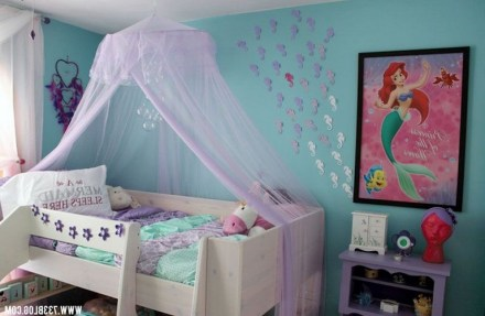 36+ Sweet Mermaid Themes Bedroom Ideas For Your Children (3)