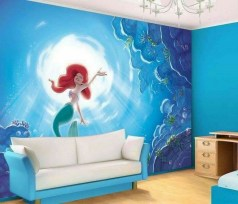 36+ Sweet Mermaid Themes Bedroom Ideas For Your Children (37)
