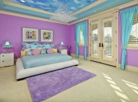 36+ Sweet Mermaid Themes Bedroom Ideas For Your Children (5)