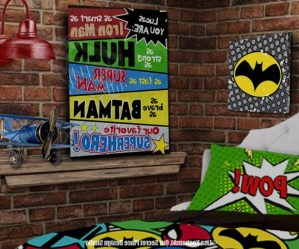 44+ Cool Superhero Theme Ideas For Boy's Bedroom (11)