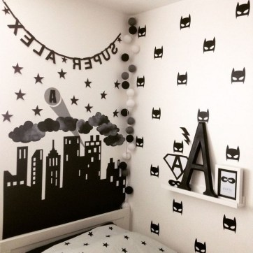 44+ Cool Superhero Theme Ideas For Boy's Bedroom (27)