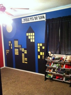 44+ Cool Superhero Theme Ideas For Boy's Bedroom (28)
