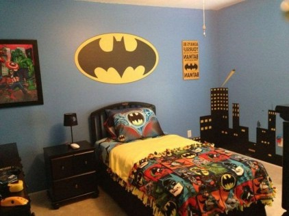 44+ Cool Superhero Theme Ideas For Boy's Bedroom (29)