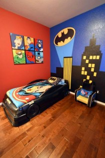 44+ Cool Superhero Theme Ideas For Boy's Bedroom (30)