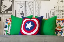44+ Cool Superhero Theme Ideas For Boy's Bedroom (34)