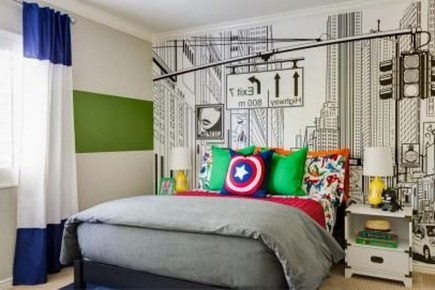 44+ Cool Superhero Theme Ideas For Boy's Bedroom (41)