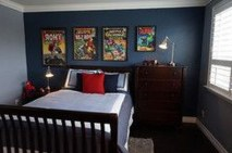 44+ Cool Superhero Theme Ideas For Boy's Bedroom (7)