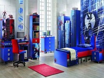 44+ Cool Superhero Theme Ideas For Boy's Bedroom (8)
