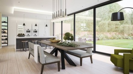 45+ Amazing Interior Design Ideas With Farmhouse Style (28)