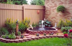 46+ Beauty Outdoor Water Fountains Ideas Best For Garden Landscaping (11)