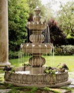 46+ Beauty Outdoor Water Fountains Ideas Best For Garden Landscaping (36)