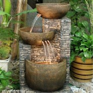 46+ Beauty Outdoor Water Fountains Ideas Best For Garden Landscaping (37)