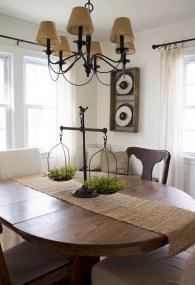 75+ Stuning Farmhouse Dining Room Decor Ideas 06