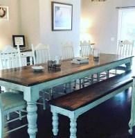 75+ Stuning Farmhouse Dining Room Decor Ideas 10