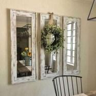 75+ Stuning Farmhouse Dining Room Decor Ideas 35
