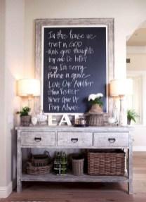 75+ Stuning Farmhouse Dining Room Decor Ideas 38