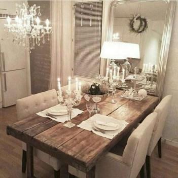 75+ Stuning Farmhouse Dining Room Decor Ideas 45