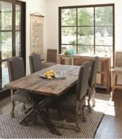 75+ Stuning Farmhouse Dining Room Decor Ideas 62