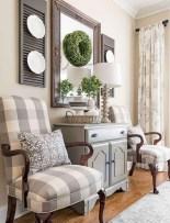 75+ Stuning Farmhouse Dining Room Decor Ideas 64