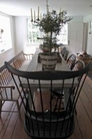 75+ Stuning Farmhouse Dining Room Decor Ideas 77