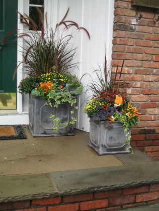 88+ Amazing Fall Container Gardening Ideas (11)
