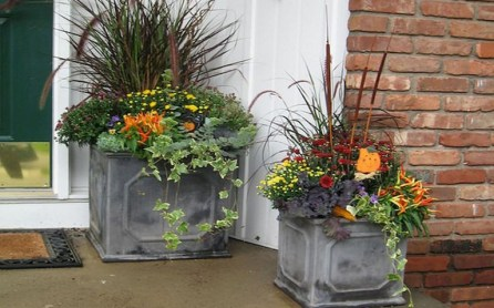 88+ Amazing Fall Container Gardening Ideas (13)