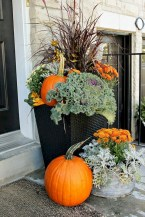 88+ Amazing Fall Container Gardening Ideas (40)