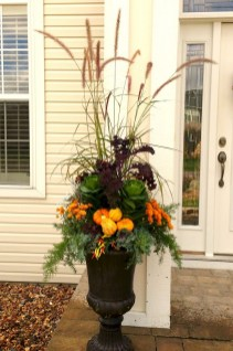 88+ Amazing Fall Container Gardening Ideas (49)