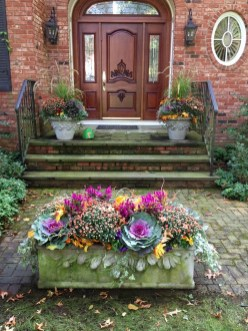 88+ Amazing Fall Container Gardening Ideas (65)