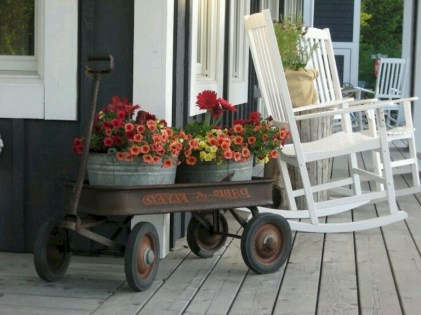 88+ Amazing Fall Container Gardening Ideas (72)