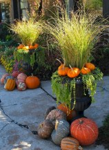 88+ Amazing Fall Container Gardening Ideas (84)