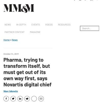 Pharma digital transformation