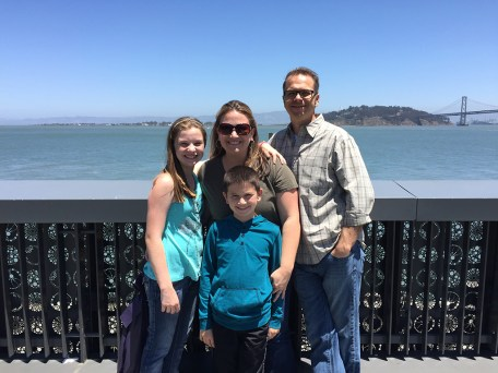 Bourn Family At The Exploratorium