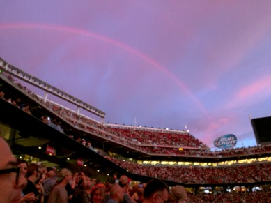 Grateful Dead Fare Thee Well Rainbow