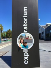 Natalie and Carter Bourn At The Exploratorium in San Francisco