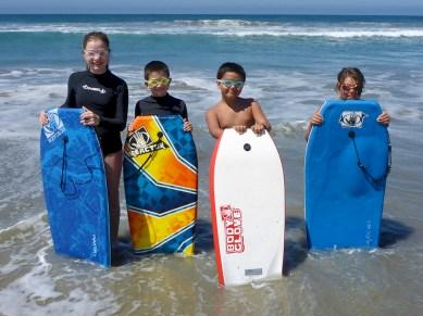 Boogie Boarding Oceanside California