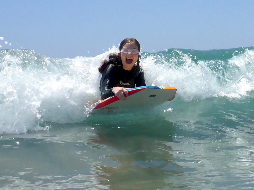 Natalie Bourn Boogie Boarding