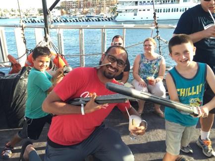 Syed Balkhi Cabo Pirate Cruise