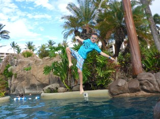 Tarzan Pool Rope Swing