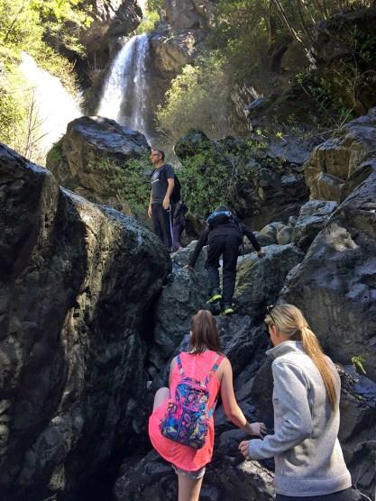 Hiking To Salmon Creek Falls Near Big Sur